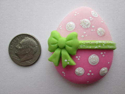 Needle Minder - Pink Dot Easter Egg (Clay)