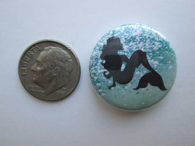 "1"" Button Magnet ~ Mermaid #2"