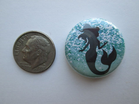 "1"" Button Magnet ~ Mermaid #1"