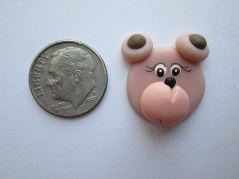 Needle Minder ~ Ted E. Bear (Clay) ONE OF A KIND!