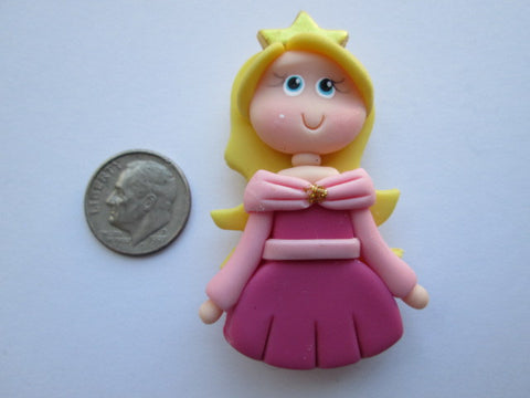 Needle Minder ~ Pink Princess (Clay) ONE OF A KIND!