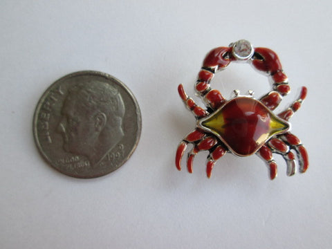 Needle Minder ~ Red Crab