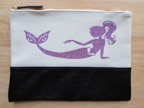 Project Zipper Bag - Glitter Mermaid #2 (various colors)