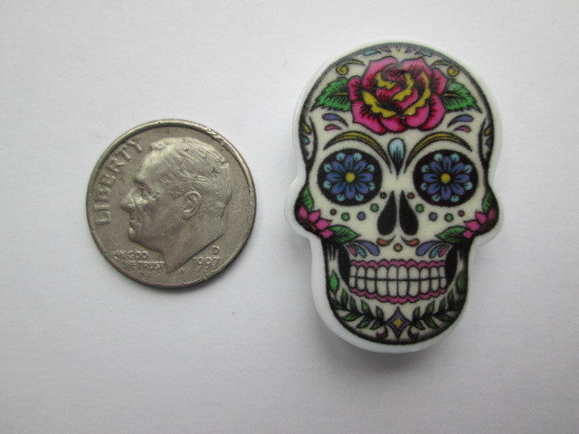 Needle Minder ~ Acrylic Sugar Skulls (5 Designs!)