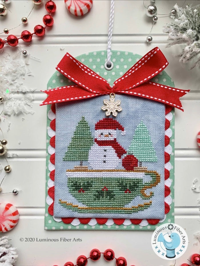 Copy of Luminous Fiber Arts ~ Christmas in the Kitchen: Tea