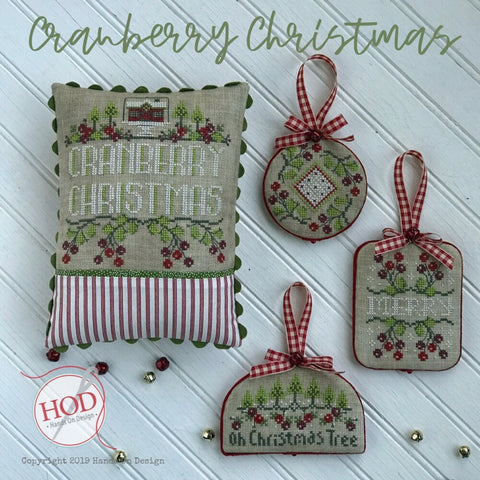 Hands On Design ~ Cranberry Christmas - PRE-ORDER NOW!! HURRY!!!