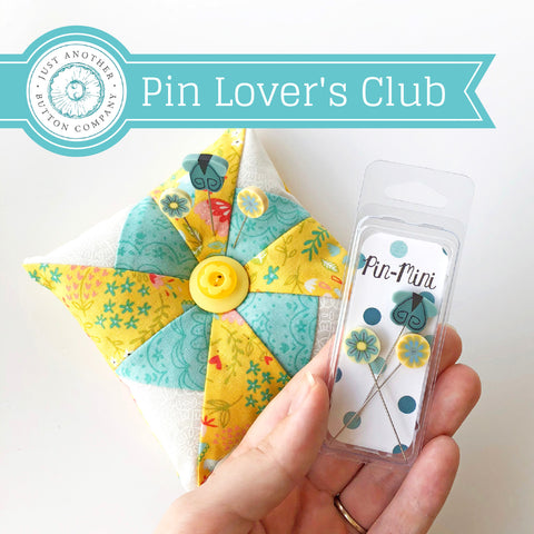 JABC ~ August Mini Pin Club  (a few in-stock now!)