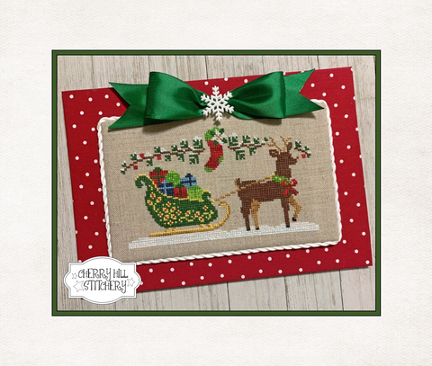 PDF ~ Cherry Hill Stitchery ~ Jingle all the Way - PDF