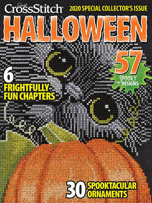 Just Cross Stitch ~  2020 Halloween Issue