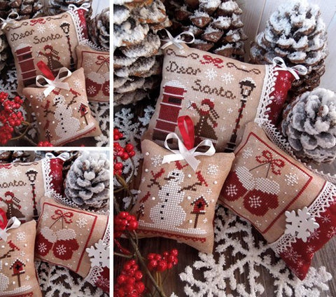 The Little Stitcher ~ Christmas Ornaments Set 1
