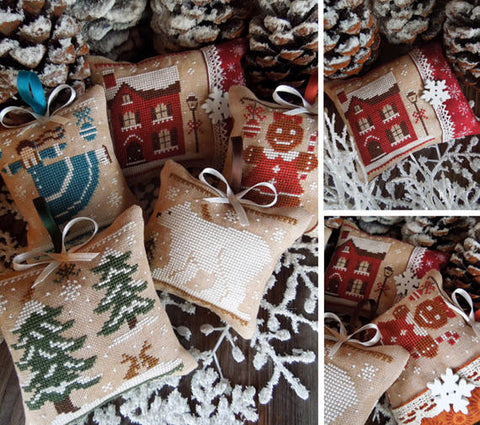 The Little Stitcher ~ The Colors of Christmas - All Colors