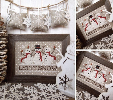 The Little Stitcher ~ Let It Snow