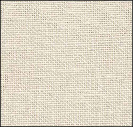 28ct Linen Cashel ~ Platinum Fat 1/8