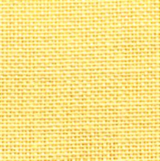 "28ct Linen Cashel ~ Yellow Fat 1/4 Plus 19 1/2"" X 27"""