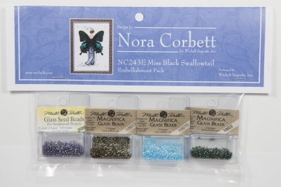 Nora Corbett/Mirabilia ~ Butterfly Misses Collection ~ Miss Black Swallowtail EMB PACK