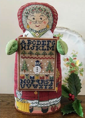 Needle's Notion ~ Mrs. Santa's Sampler