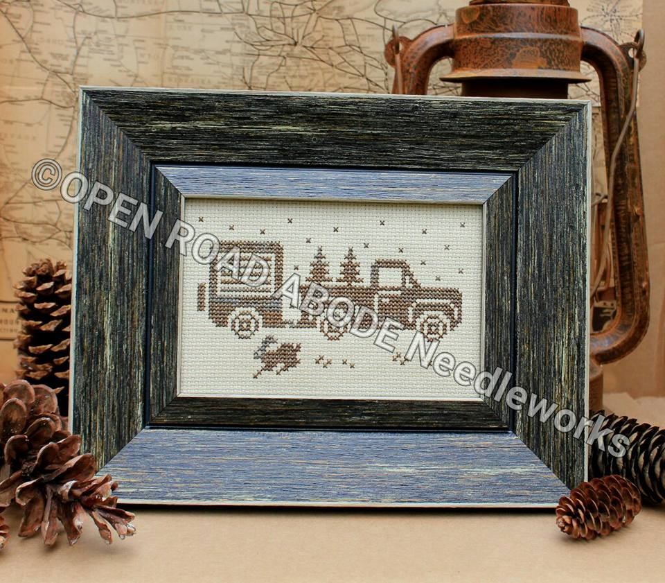 Open Road Abode Needleworks ~ Greetings From America