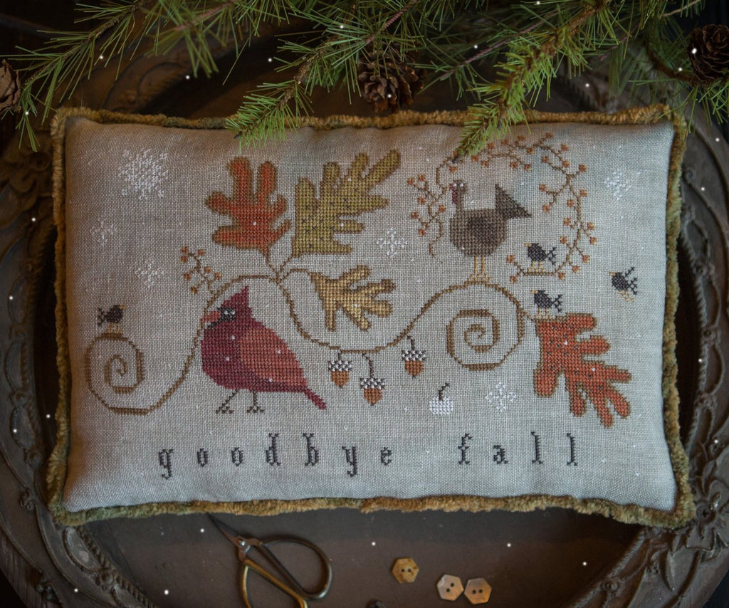 Plum Street Samplers ~ Goodbye Fall