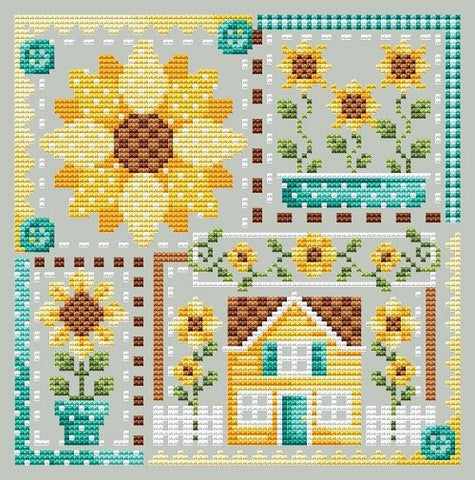 Shannon Christine Designs ~ Sunflower Patchwork