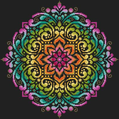 Shannon Christine Designs ~ Full Rainbow Mandala