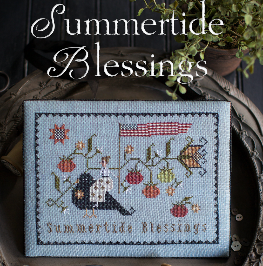 Plum Street Samplers ~ Summertide Blessings