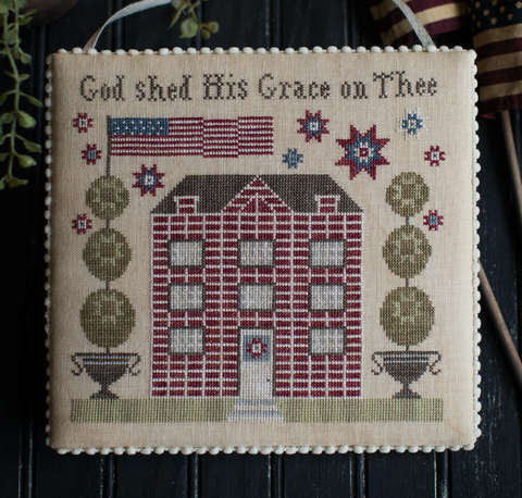 Plum Street Samplers ~ Grace On Thee