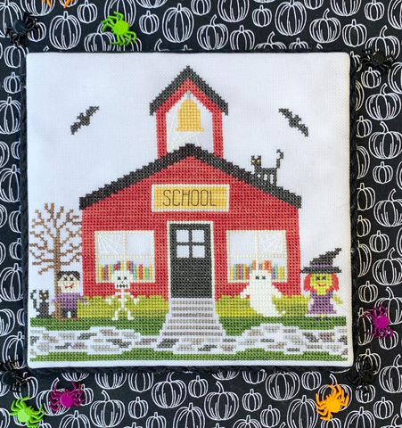 Little Stitch Girl ~ Schoolhouse