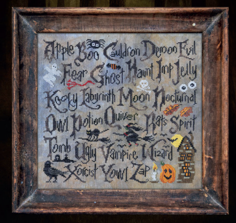 Cottage Garden Samplings ~ Halloween Sampler II