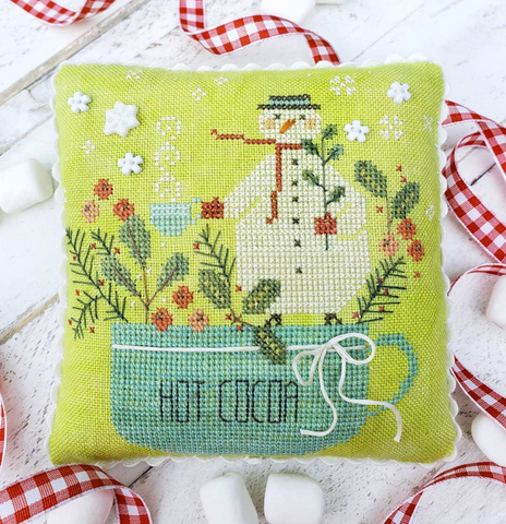 Country Stitches/With Thy Needle & Thread ~ Mr. Marshmallow