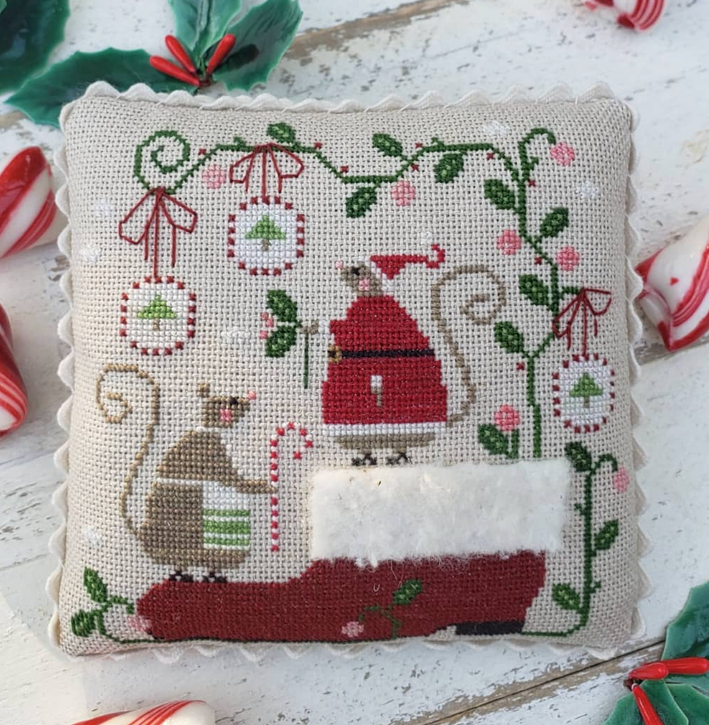 Country Stitches/With Thy Needle & Thread ~ When Santa's Away