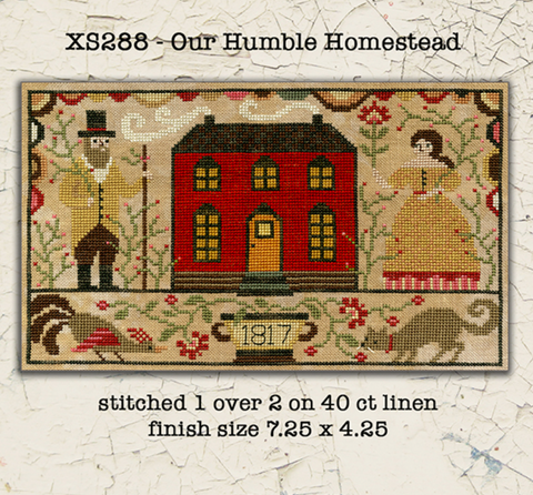 Teresa Kogut ~ Our Humble Homestead (cross stitch)