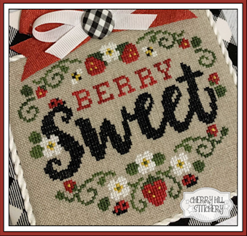 PDF ~ Cherry Hill Stitchery ~ Berry Sweet PDF