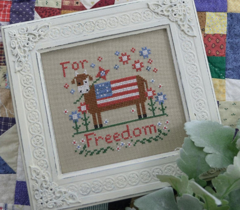 Annie Beez Folkart ~ For Freedom!