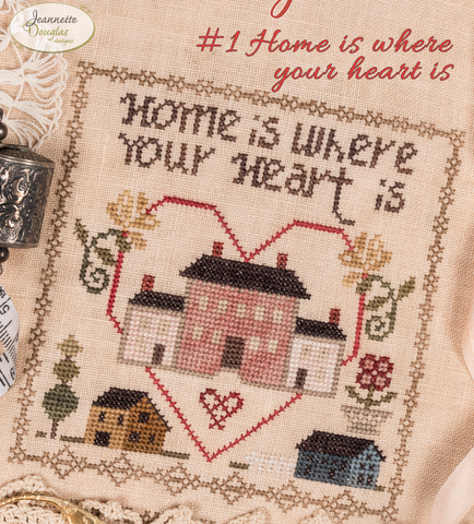 Jeanette Douglas Designs ~ Home Together Series ~ # 1 Home is where your heart is