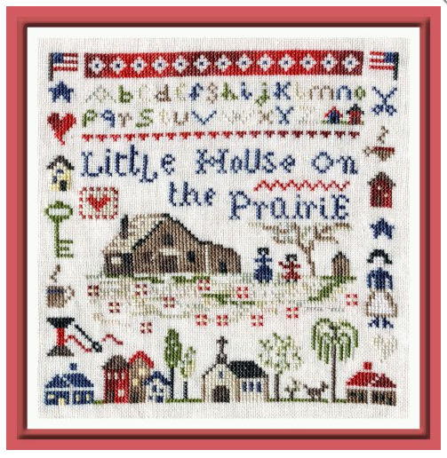 The Pink Needle ~ Little House on the Prairie