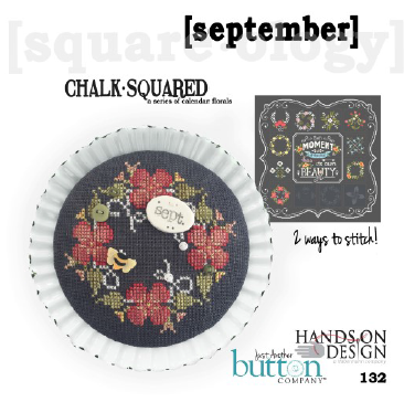 Hands On/JABC ~ Chalk Squared September w/buttons