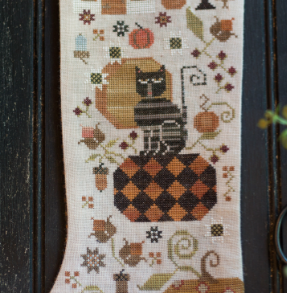 Plum Street Samplers ~ Olga's Autumn Stocking