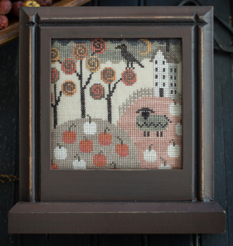 Plum Street Samplers ~ Autumn Ewe