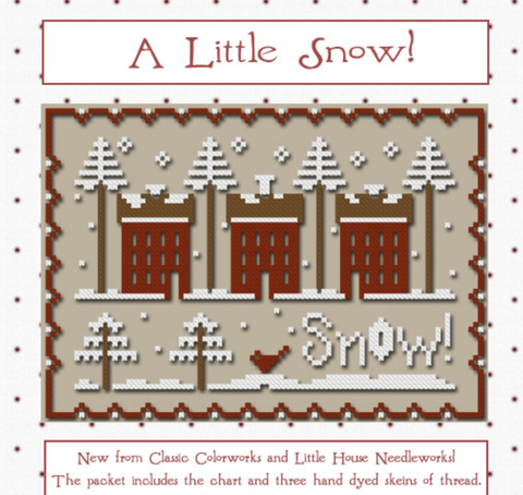 CC/LHN ~ A Little Snow