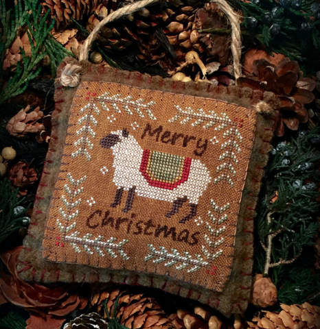 The Woolly Ewe ~ Merry Christmas Ewe