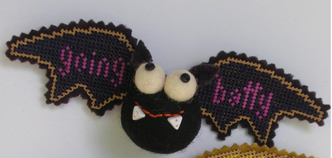 Val's Stuff ~ Bat Crazy Kit - BLACK