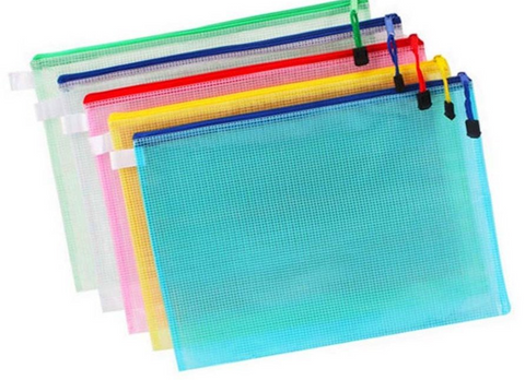 9 x 13 Mesh Bags ~ Assorted Colors