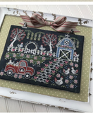 Hands On Design ~ Fresh Eggs Farm - Chalk On The Farm Pattern & Needle Nanny's