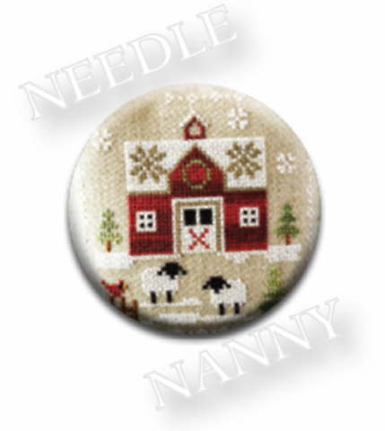 Farmhouse Christmas - Little Red Barn Needle Nanny