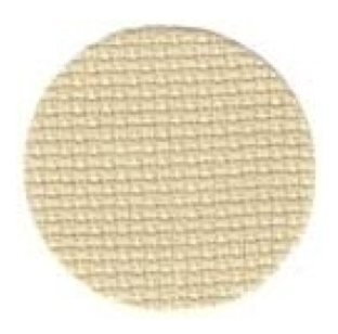16ct Aida ~ Lambswool Fat 1/2