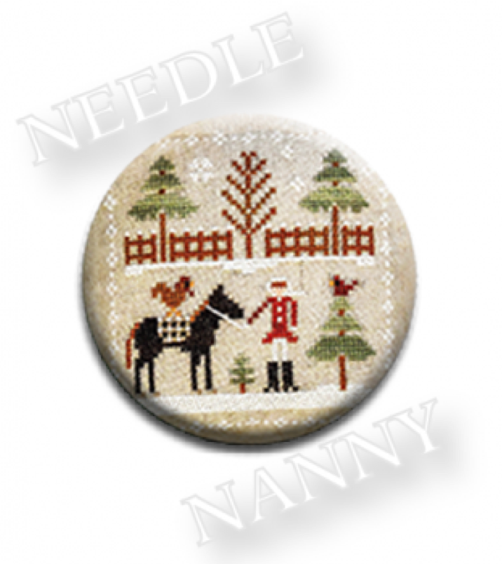 Farmhouse Christmas - Horsin' Around Needle Nanny