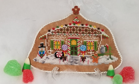 Blackberry Lane Designs ~ Gingerbread Camper