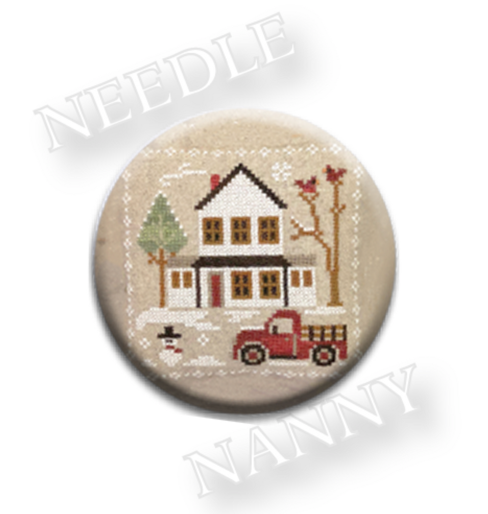 Farmhouse Christmas - Grandpa's Pick-Up Needle Nanny