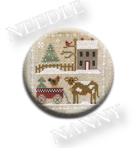 Farmhouse Christmas - Dairy Darlin' Needle Nanny
