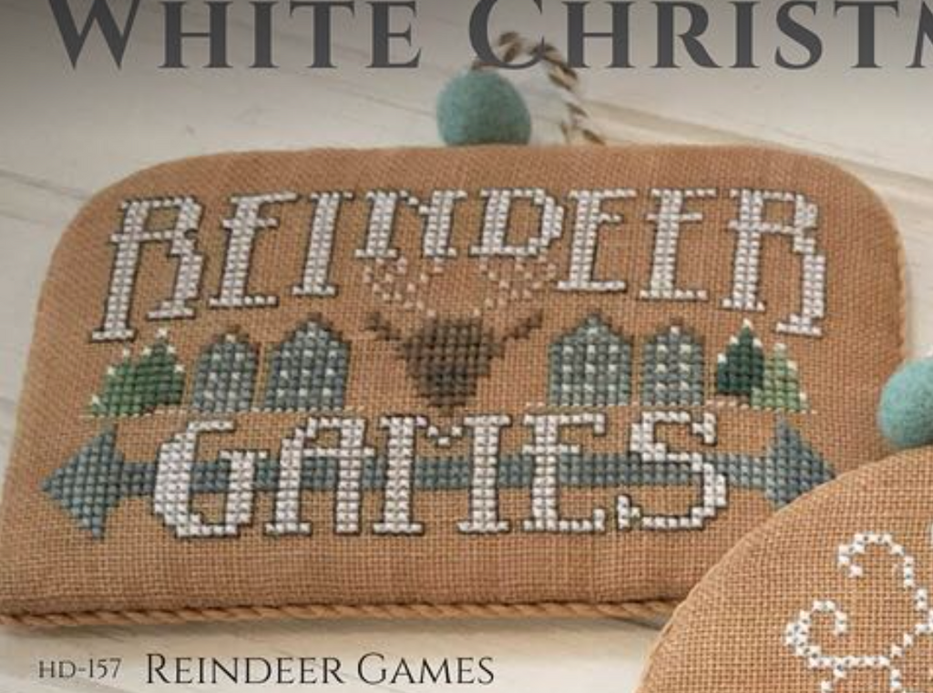 Hands On Design ~ White Christmas Series  ~ Reindeer Games